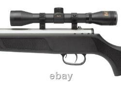 Beeman Air Rifle Silver Kodiak X2 1077sc Dual Barrel Avec Boîtier Et Portée