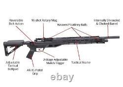 Benjamin Armada Bolt-action Pneumatic Air Rifle. 22 Calibre Btap22