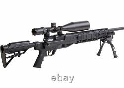Benjamin Armada Pcp Bolt Action Air Rifle Withscope & Bipod. 24 Cal