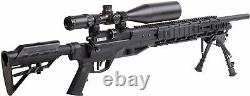 Benjamin Armada Pcp Powered Multi-shot Bolt Action Chasse Air Rifle Withm Lock