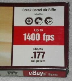 Benjamin Black Lightning. 177 Np2 Pause Canon Carabine À Air Comprimé Avec Scope 1400 Fps Nouveau