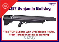 Benjamin Bulldog Bpbd3s Carabine À Air Comprimé 357 Multi-coups Tout Neuf, Puissance De Chasse