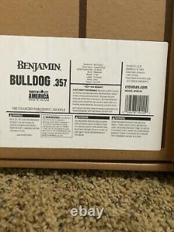 Benjamin Bulldog Bullpup Pcp Avec Airgun 500.00 Bundle Personnalisé