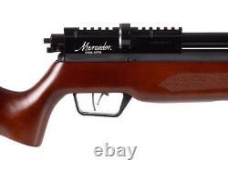 Benjamin Marauder Semi-auto (sam) Pcp Air Rifle Wood Stock. 22 Cal Picatinny Nouveau