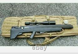 Benjamin Precharged Pneumatic Bull Dog Pup Air Rifle Lot Voir La Description