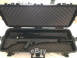 Benjamin Sheridan Bpbd3s Bulldog. 357 Pcp Big Game Carabine À Air Comprimé, La Portée Et Cas