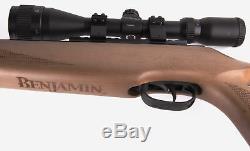 Benjamin Trail Np XL 725 Bois Franc. Carabine À Air Comprimé Et Canon De Calibre 25