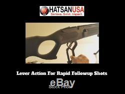 Brand New Hatsan Vectis Carabine À Air Comprimé. 22 Calibre, Action Lever, Vient De Paraître