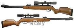 Browning Effet De Levier Carabine À Air Comprimé Underlever Bois Stock 3-9x40 Scope 0.22 Cal