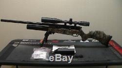 Bsa R-10mkii. 22 Carabine À Air Comprimé, Régulateur Huma, Et Extras