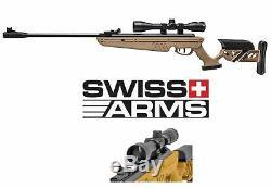 Carabine À Air Comprimé Avec Canon Tg-1 De Swiss Arms Avec Lunette De Visée (remise À Neuf)