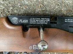 Carabine À Air Comprimé, Carabine À Air Comprimé, Pistolet Granulés, Hatsan. 177, Stock En Bois, Hatsan Flash Qe, Pcp
