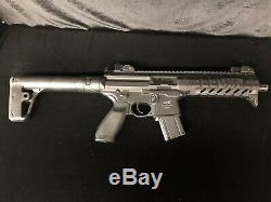 Carabine À Air Comprimé Sig Sauer Mpx Asp Avec Chargeur De Pellets À 30 Cartouches. 177 Cal (4.5mm) -blk