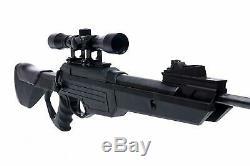 Carabine A Pellet Avec Pistolet Avec Scope 1350 Fps Chasse. 177 Tpr 1200 De Cal Bear River Nouveau