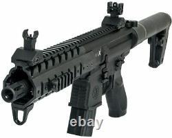 Certifié Sig Sauer Mpx. 177 Cal Air Rifle Black Air-ud-mpx-177-blk Garantie