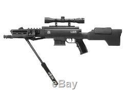 Combo De Carabine À Air Comprimé Sniper Black Ops. Calibre 22
