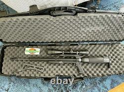 Condor Airforce Pcp Air Rifle Spin-loc R0401 Portée + Air Yoke + Cas