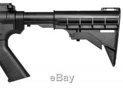 Crosman Fusil D'assaut M4-177 Pistolet À Air Comprimé Bb Pellets Multi-pompe Adj. Stock 18 Kit Rd
