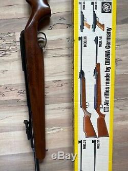 Diana Rws Modèle 48,177 Cal Fusil À Pellets Fait En Allemagne De L'ouest
