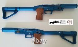 Édition Limitée Edgun Leshiy. 22 (pcp Air Rifle) Pellet Gun Blue Finish 2