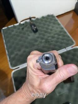 Feinwerkbau Pistol Air Excellent État Mod 65 Comprend Le Boîtier Et Les Pellets