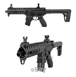 Fusil À Air Comprimé Sig-sauer Mpx À Pistolet À Co2 575 Ips, Noir