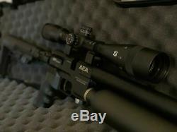 Fusil De Précision Aea Pcp. 22 HP Varmint Bolt Action Marque Nouveau (no Scope)