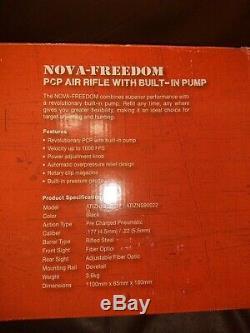 Fusil Pcp Nova Freedom First Avec Pompe À Air Intégrée, Aucune Pompe Ni Réservoir Requis