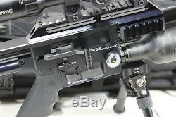 Fx Airguns Impact. 25 Cal Pcp Pistolet À Air Rifle Case Bundle