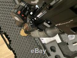 Fx Impact X. 30 Cal Pcp Carabine À Air Comprimé Avec Scope Hawke, Modérateur, Sauvegarde Red Dot