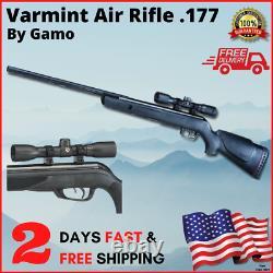 Gamo Big Cat 1250 Fps Puissant Varmint Pest Chasse Rifle 177 Cal Pellet Pistolet À Air
