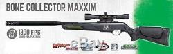 Gamo Bone Collector Maxxim. 177 Cal Carabine À Air Comprimé With3-9x40mm Portée (refurb)