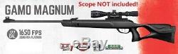 Gamo Magnum. 177 Calibre 1650 Fps Pba Plate-forme Carabine À Air Comprimé Sans Portée (refurb)