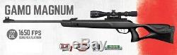 Gamo Magnum. 177 Calibre 1650 Fps Pba Plate-forme Carabine À Air Comprimé With3-9x40 Portée