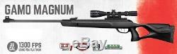 Gamo Magnum. 22 Calibre 1300 Fps Pba Plate-forme Carabine À Air Comprimé With3-9x40 Portée