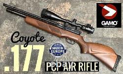Gamo Pcp Fusil À Air Comprimé. 177 2 Déclencheur D'étape Avec V-life 6-24x50 Aoeg Optic