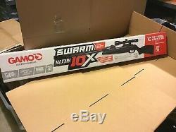 Gamo Swarm Maxxim 10x. 177 Calibre 10 Prise De Vue En Rupture Barrel Carabine À Air Comprimé Avec Scope