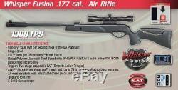 Gamo Whisper Fusion. Carabine À Air Comprimé De Calibre 177 Avec Lunette De Visée De 3-9x40mm 611009654