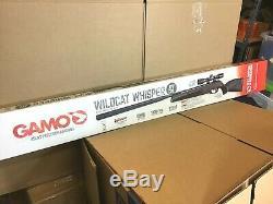 Gamo Wildcat Chuchotement. 177 Calibre Pause Canon Carabine À Air Comprimé Avec Scope