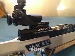 Great Condition Anschutz 8002 S2 Air Rifle Main Droite + Boîtier