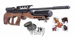 Hatsan Airmax. 22 Cal Hardwood Stock Carabine À Air Comprimé Avec Le Pack De Bundle Pellets