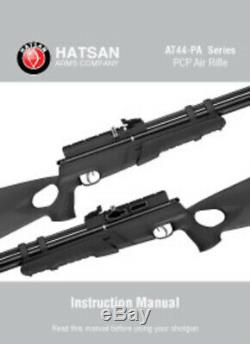 Hatsan At44-pa-10.25 Carabine À Air Comprimé À Action De Pompage Cal 40 Fpe +/- Puissance Inégalée
