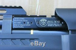 Hatsan Bullboss. 22 Carabine À Air Comprimé Pcp Avec Régulateur Huma, Pn Hat01, HP Installée