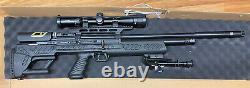 Hatsan Bullboss Pcp. 25 Fusil À Air Comprimé De Chasse Avec Portée
