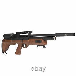 Hatsan Bullboss Wood 0.25 Caliber Lever Action 23 Barrel Air Rifle (d'assaut)