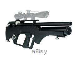 Hatsan Bullmaster Semi-automatique Pcp Carabine À Air Comprimé. 22 Ou. 177 W Calibre Paquet De Pellets