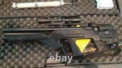 Hatsan Bullup Pcc 0.22 Cal Rifle D'air Semi-auto Avec Réservoir Et Pompe
