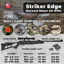 Hatsan Edge Printemps Harvest Moon Combo. Fusil À Air Comprimé De Calibre 25 Avec Faisceau De Granulés