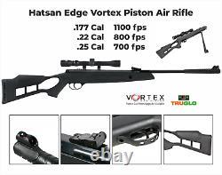 Hatsan Edge Vortex Combo. Fusil À Air Comprimé De Calibre 22