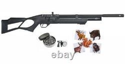 Hatsan Flash Qe. 25 Cal Air Rifle Avec Pack De Granulés Et Paquet De Cibles En Papier